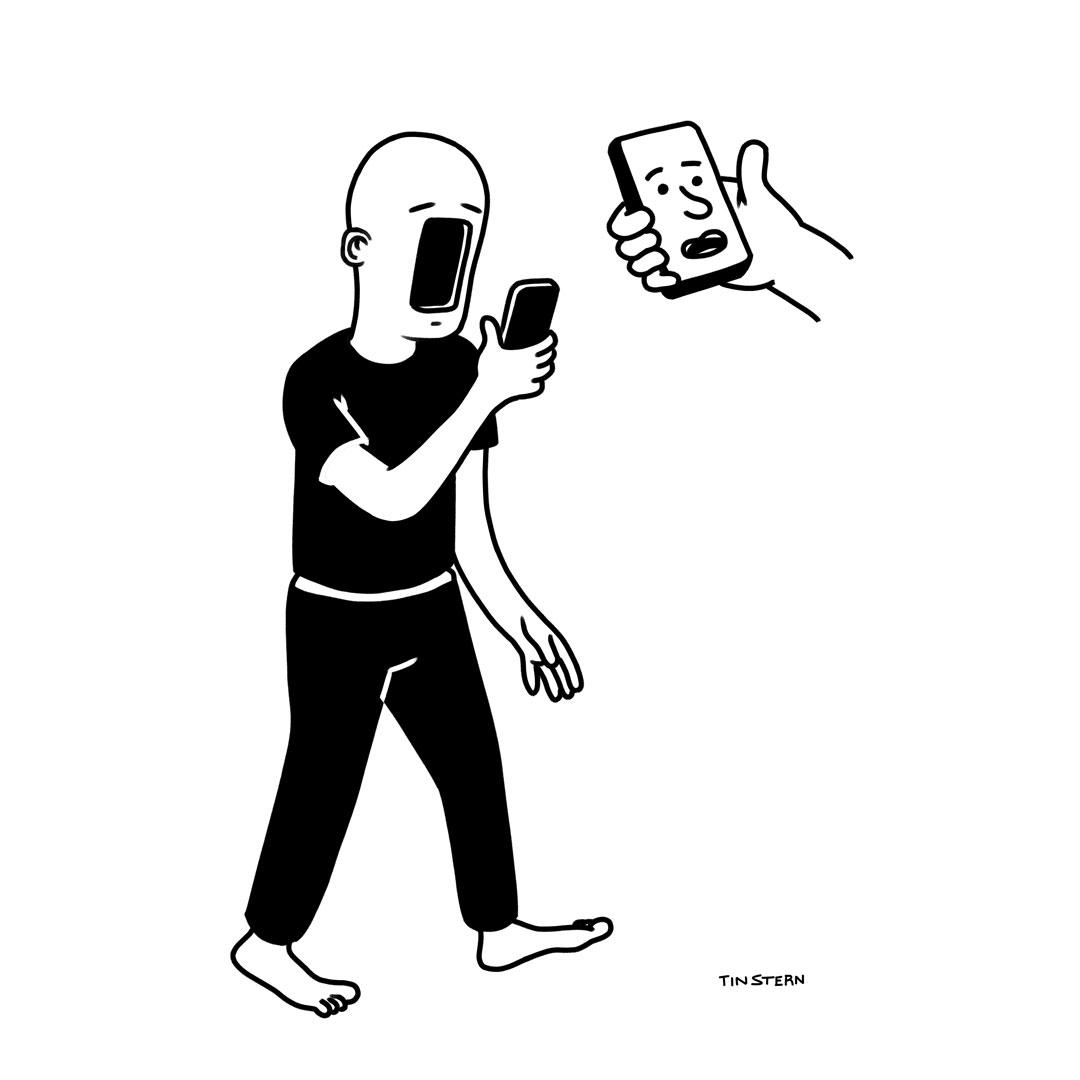 Martin Sternberg ilustration egophone